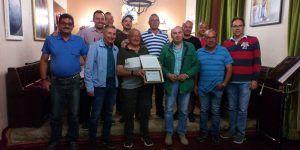 El Ayuntamiento de Sigüenza rinde homenaje a Antonio Escudero García con motivo de su jubilación