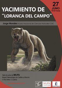 El Museo de Paleontología finaliza su ciclo de conferencias sobre Paleontología con el yacimiento de Loranca del Campo