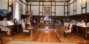El pleno de la Diputación de Guadalajara aprueba un convenio con la Consejería de Agricultura para reparar daños por las tormentas de septiembre