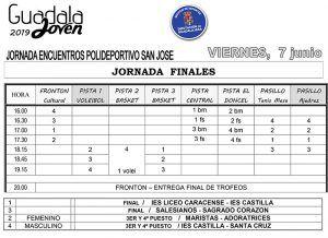 El viernes 7, Finales de Guadalajoven'2019, olimpiada deportivo-cultural infantil organizada por la Diputación