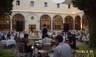 Estival Gastronómico llena de buen gusto y música el Claustro del Parador de Cuenca