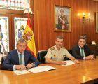 Eurocaja Rural reafirma su apoyo a la Academia de Infantería de Toledo