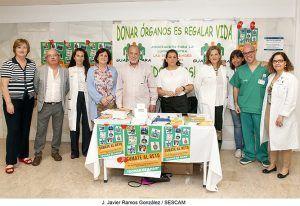 """Guadalajara se suma a la celebración del Día Nacional del Donante de Órganos con el objetivo de que haya """"cero personas"""" esperando un trasplante"""