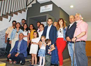 Huete homenajea a Manuel Olarte en un emotivo acto