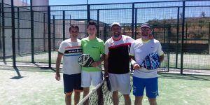 Jorge Noheda y Adrián Marcelo se alzan con el triunfo en el IV Torneo de Pádel 'Padelmanía Minglanilla 2019'