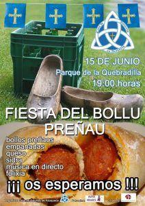 """La Casa de Asturias en Azuqueca celebra la fiesta del """"Bollu preñao"""" en el Parque de la Quebradilla"""