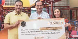 La Cena Solidaria de Restaurante Lino a beneficio de Nipace recaudó 3.500 euros