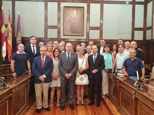 La Diputación de Guadalajara celebra la festividad del Sagrado Corazón homenajeando a sus trabajadores