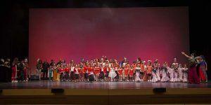 La Escuela Municipal de Danza de Cabanillas conquista el Buero