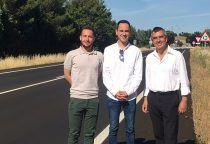 La Junta destina cerca de medio millón de euros al arreglo de la carretera CM-1007 en el tramo entre Guadalajara y Cabanillas del Campo