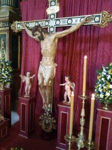 La V. H. del Stmo. Cristo de la Luz celebra esta semana sus Cultos y el Concierto de Clausura del 75º Aniversario