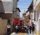 Los altares y alfombras del Corpus embellecieron las calles de Almonacid de Zorita