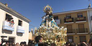 Miles de fieles arropan a la Virgen de Rus en el 50 aniversario de su Coronación