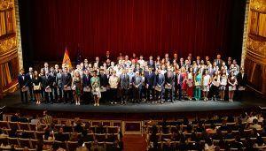 Nueve estudiantes de la UCLM reciben el Premio Nacional Fin de Carrera Universitaria de los cursos 2012-2013 y 2014-2015