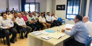 """Prieto pide a los alcaldes del PP que sirvan a sus pueblos y que contribuyan """"a generar un proyecto de provincia"""""""