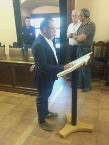 Salvador Martínez, del PSOE, elegido por unanimidad alcalde de Priego