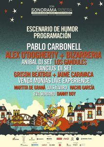 Sonorama Ribera anuncia la programación del Escenario de Humor
