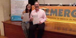 Un médico y una residente del Centro de Salud de Azuqueca de Henares, premiados en unas jornadas de Nuevas Tecnologías de Semergen