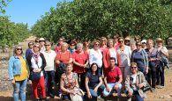 Una delegación de AMFAR Valencia visita Ciudad Real y Toledo para conocer el cultivo del pistacho