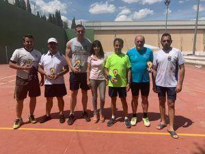 Víctor León Hontecillas y Miguel Ángel Fernández ganan en La Jara en el estreno del XII Circuito de Frontenis Diputación de Cuenca
