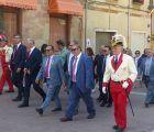 Primera visita institucional del presidente de la Diputación de Guadalajara a Molina de Aragón con motivo de las Fiestas del Carmen