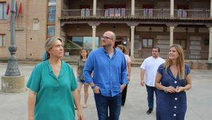 """Agudo destaca que el PP se va a """"patear"""" cada rincón de la región para estar en contacto permanente con la sociedad castellano-manchega"""