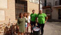 ECO-logízate lema de la iniciativa de CONTIGO Somos Democracia de El Casar-Mesones para concienciar sobre el reciclaje de plásticos