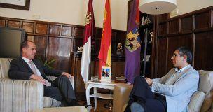 El alcalde de Guadalajara, Alberto Rojo, se reúne con el subdelegado del Gobierno, Ángel Canales
