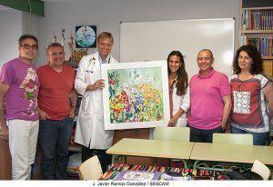 El Aula del Hospital de Guadalajara finaliza el curso con 428 alumnos atendidos y avanzando en proyectos como el 'Museo de La Pecera'