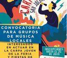 El Ayuntamiento de Cuenca recupera la Carpa Joven para grupos de música locales en la Feria de San Julián