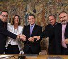 El Gobierno de Castilla-La Mancha y los agentes sociales firman el pacto que hará del diálogo social la herramienta para el crecimiento económico y consolidación de la recuperación social