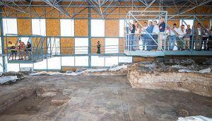 El Gobierno de España financia, con el 1,5% cultural, el 75% de las obras de recuperación del yacimiento arqueológico de Noheda