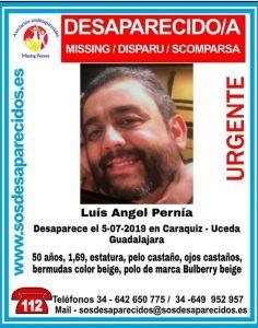 Encuentran muerto al hombre desaparecido en Uceda el viernes pasado