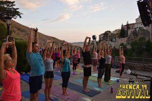 Estival Zen vuelve a ser sinónimo de éxito con el yoga como protagonista