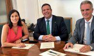 Eurocaja Rural financiará nuevas inversiones en Santander tras suscribir una operación con el Ayuntamiento cántabro