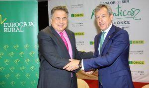 Eurocaja Rural pone a disposición de los vendedores de la ONCE su amplia red comercial
