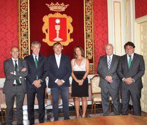Eurocaja Rural traslada su vocación de servicio al Ayuntamiento de Cuenca