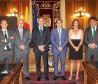 Eurocaja Rural visita la Diputación de Cuenca y traslada a su presidente su vocación de servicio con la provincia