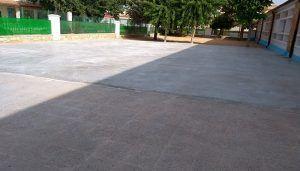 Finalizan las obras de adecuación del patio de Educación Infantil del CEIP Rafael López de Haro de San Clemente