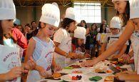 Gran éxito de la II edición de `Master Ajo Junior´, donde los más pequeños demuestran su talento en la cocina