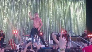 Iggy Pop dio un gran concierto en el Mad Cool 2019