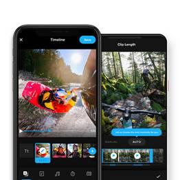 Dos en una:  las aplicaciones GoPro y Quik se fusionan para ofrecer una increíble experiencia de edición móvil