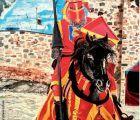 """La Alvarada trae como novedad este año el I Certamen Nacional de Pintura Rápida de Temática Medieval """"Villa de Cañete"""""""