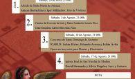 """La Asociación Cultural Ciudad de Huete presenta su XII Ciclo de Conciertos Ciudad de Huete """"Música y Patrimonio"""""""