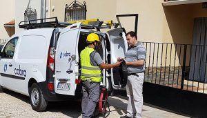 La fibra óptica entra en servicio en Huete