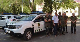 Los agentes medioambientales de Guadalajara disponen de cinco nuevos vehículos