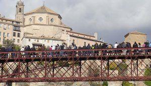Los viajeros y las pernoctaciones crecen más de 5.000 personas de enero a mayo en Cuenca