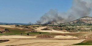 Otro incendio declarado en Cuenca esta vez una zona agrícola en Beteta