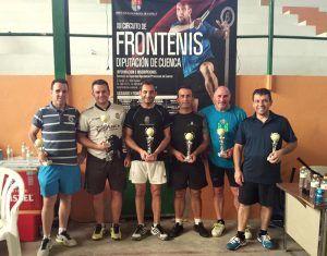 Roberto Tudela y Miguel Checa se imponen en el Torneo de Frontenis de El Peral
