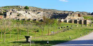 Segóbriga mantiene su tendencia al alza y cierra el mes de junio con un 13,5% más de visitantes